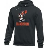 Beaverton Youth Basketball 26: Adult-Size - Nike Team Club Fleece Training Hoodie (Unisex) - Black
