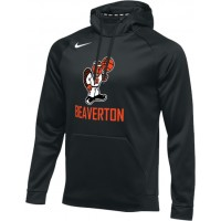Beaverton Youth Basketball 28: Nike Therma Men's Training Hoodie - Black