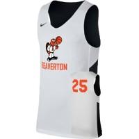 Beaverton Youth Basketball 12: Adult-Size - Nike Reversible Tank - Black/White