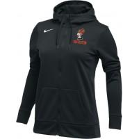 Beaverton Youth Basketball 29: Nike Women's Therma All-Time Hoodie Full Zip - Black