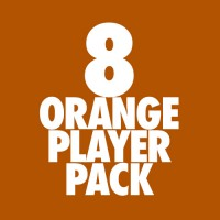 Beaverton Youth Basketball 07: Player Pack 8-Orange